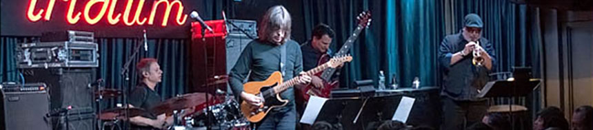 Mike Stern & Randy Brecker quartet